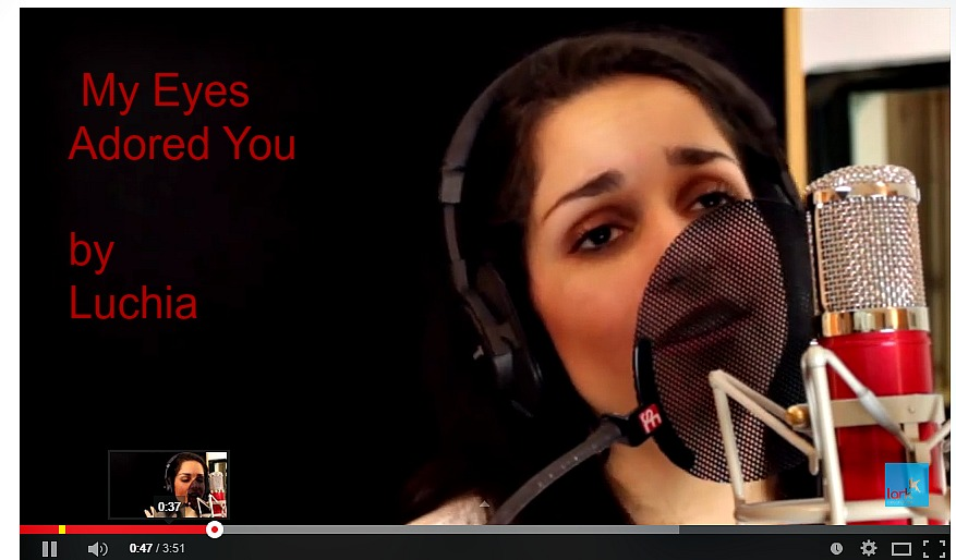 "Frankie Valli's ""My Eyes Adored You"" performed by Luchia"