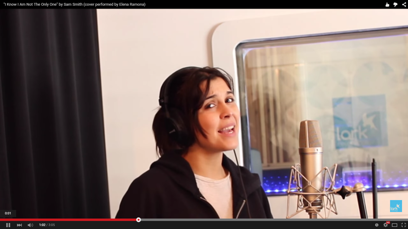 I Know I Am Not The Only One cover performed by Elena Ramona