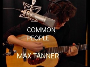Common People, acoustic cover by Max Tanner