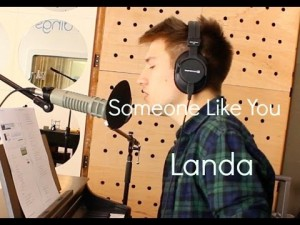 """Someone Like You"" cover by Landa"