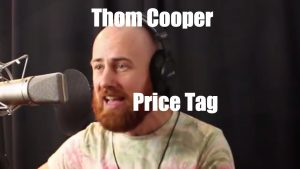 Price Tag cover by Thom Cooper