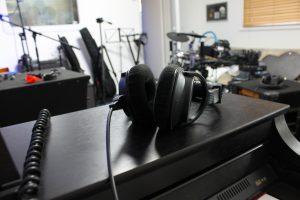 headphones at Lark